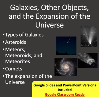 Galaxies, Other Objects and the Universe - Space PowerPoin