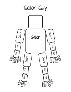 Nifty image within gallon man printable