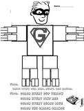 Gallon Man Worksheet!