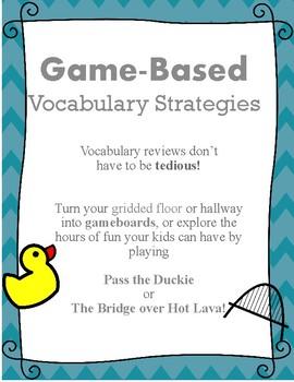 Game Based Vocabulary Strategies