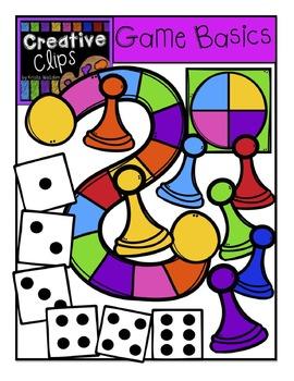 Game Basics {Creative Clips Digital Clipart}