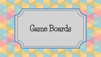 Game Board Bundle