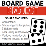 Board Game Project (Instead of a test, try this!)
