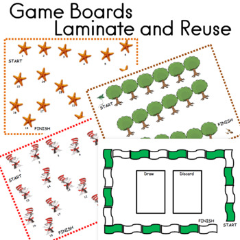 Game Boards 38 to Laminate and Reuse