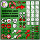 Game Boards Clip Art ♦ Christmas Edition ♦ BUNDLE