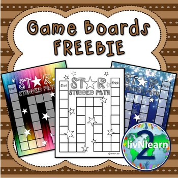 Game Boards FREEBIE! (Set 3)