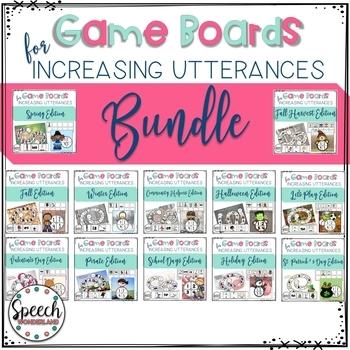 Game Boards for Increasing Utterances Growing Bundle