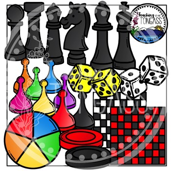 Game Clipart Bundle