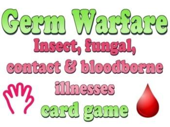 Game: Germ Warfare card game