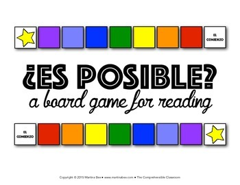 Game: Is it possible? (¿Es posible?)