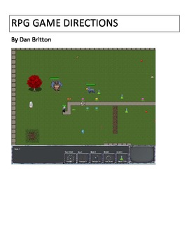 Game Maker 8.0/8.1 RPG Game Instructions Advanced