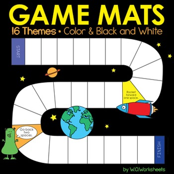 Board Games Game Mats for Centers