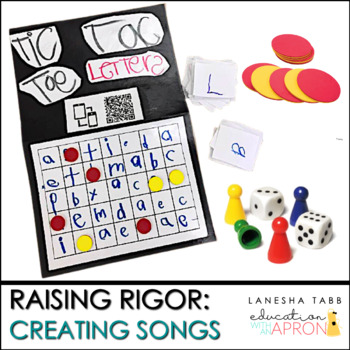 Game Printables by LaNesha Tabb-Education With an Apron