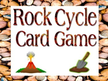 Game: Rock cycle card and kinesthetic games