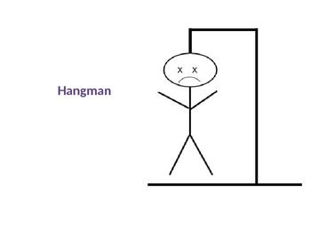 Game Template - Hangman