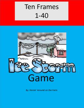 Game - Ten Frames (Winter Theme)