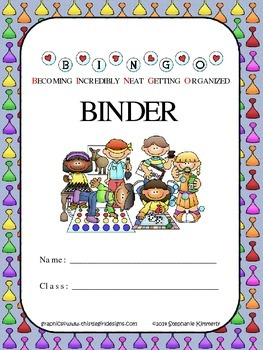 Game Theme Binder Cover