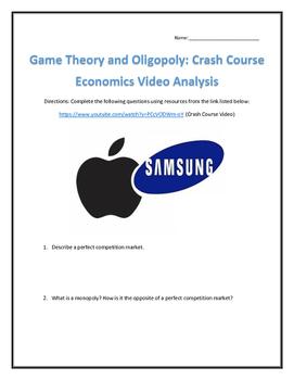 Game Theory and Oligopoly: Crash Course Economics- Video A