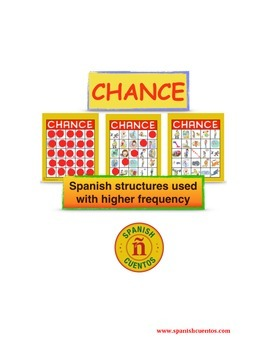 Game for Spanish class: ¡Chance! - Structures used with Hi