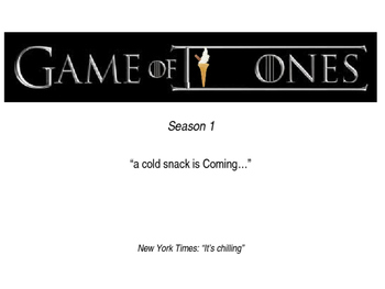 Game of Cones - Season 1 - Fractions