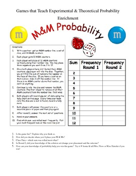 Games That Teach Probability