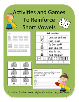 Games and Activities to Reinforce Short Vowels