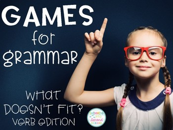 Games for Grammar - What Doesn't Fit? (Verbs Edition)