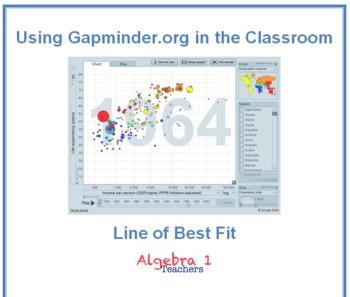 Gapminder: Line of Best Fit