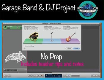 Garage Band DJ Project