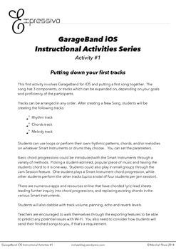 GarageBand iOS Instructional Series - Activity 1