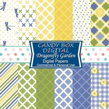 Garden Digital Background Papers