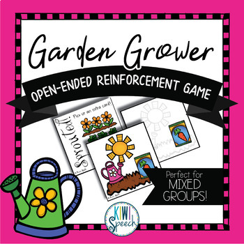 Garden Grower: Open Ended Reinforcement Game: Great for Sp