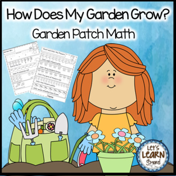 Garden, Math Worksheets, For Your Garden Unit or Plants Unit
