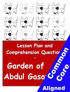 Garden of Abdul Gasazi Lesson & Reading Comprehension Work