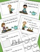 Garden Emergent Reader, Positional Words ,Cut and Paste Ac