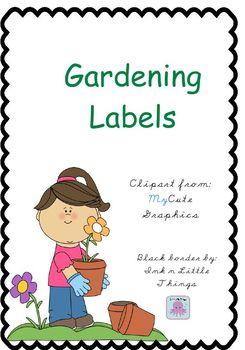 Gardening Labels