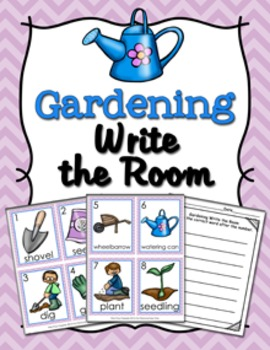 Gardening Write the Room