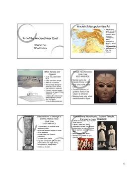 Mesopotamian Art Notes