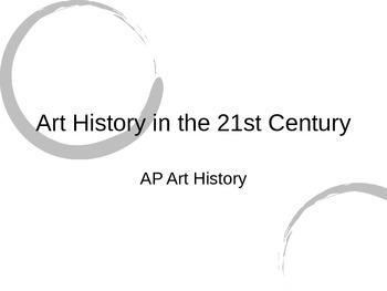 Introduction to Art History Powerpoint