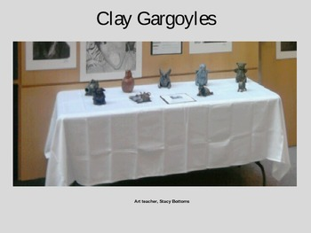 Gargoyles in Clay