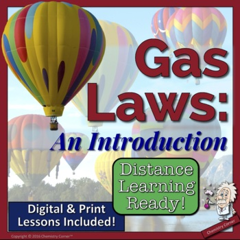 Gas Laws- An Introduction