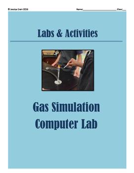Gas Laws Activity: Simulation Computer Lab