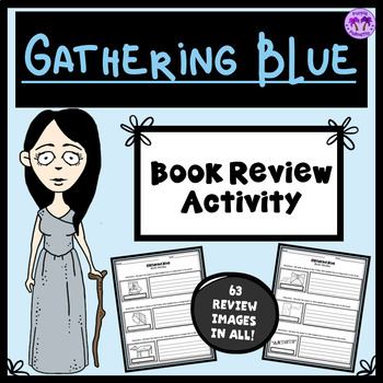 Gathering Blue Book Review Activity (Lois Lowry)