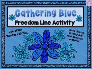 Gathering Blue Freedom Line Activity (Chapter 21-23)