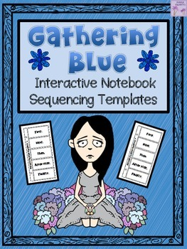 Gathering Blue Interactive Notebook Chapter Sequencing Templates