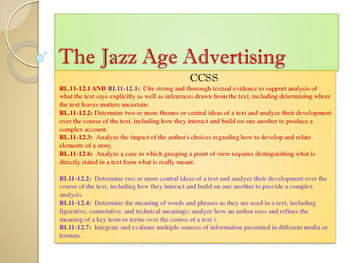 Gatsby: The Jazz Age/Art Deco Colors and Style - Focus on