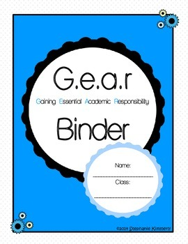 Gear {Lever} Binder Cover
