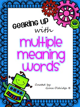 Gearing Up With Multiple Meaning Words