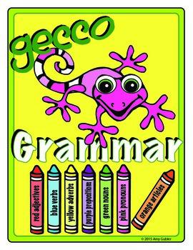Gecco Grammar  (color parts of speech)