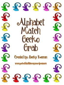 Gecko Grab Letter/Sound Match